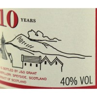 Виски Glenfarclas 10 Years Old (0,05 л)