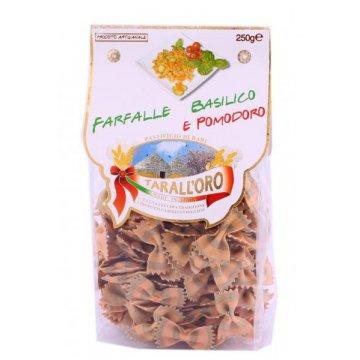 Макароны TarallOro Farfalle Basilico e Pomodoro, 250 г