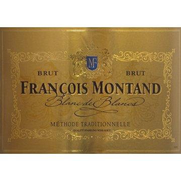 Игристое вино Francois Montand Brut Blanc de Blancs (0,2 л)