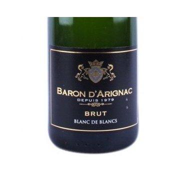 Игристое вино Baron d'Arignac Brut Blanc de Blancs (0,75 л)