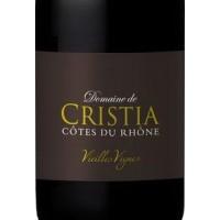 Вино Domaine de Cristia Cotes du Rhone Vieilles Vignes (0,75 л.)