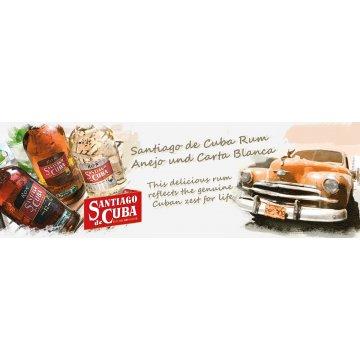 Ром Santiago De Cuba Extra Anejo 12 Years Old, gift box (0,7 л)
