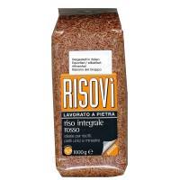 Рис Risovi Riso Integrale Rosso (1 кг)