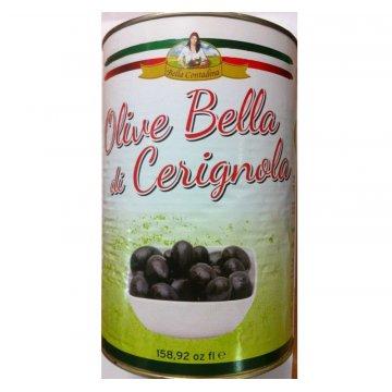 Оливки Bella Contadina Cerignola Nera, 4.25 кг