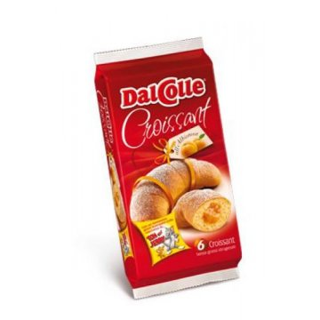 Dalcolle Croissant Абрикосовый, 6 шт