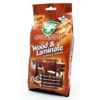 Влажные салфетки Green Shield для дерева и ламината, 70 шт