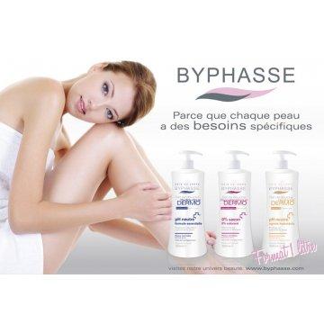 Гель для душа Byphasse Hydra-oil Dermo, 1 л