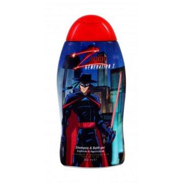 Детский шампунь и гель для душа Zorro Generation Z, 300 мл