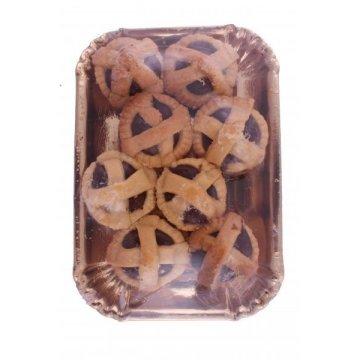 """Домашнее итальянское печенье """"Корзинки с шоколадом"""", 230 г"""