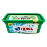 Капсулы для стирки Ariel Alpine 3в1, 32 шт