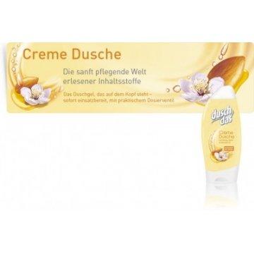 Крем-гель для душа Dusch Das mit Honig, Milch & Mandel-Ol, 250 мл