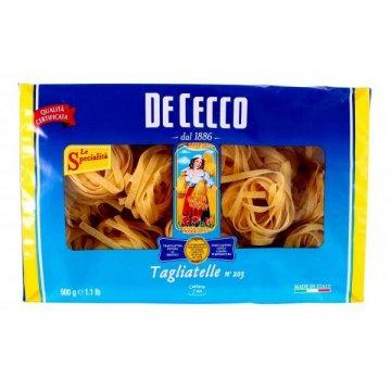 Макароны De Cecco № 203 Tagliatelle, 500 г