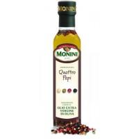 Оливковое масло Monini Aromatizzato al 4 Pepi, 0.25 л