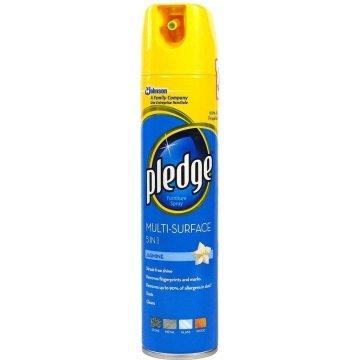 Полироль универсальный Pledge с ароматом жасмина 5 в 1, 250 мл