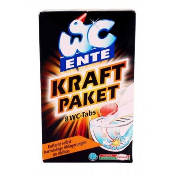 Таблетки для унитаза Ente Kraft Paket, 8 шт