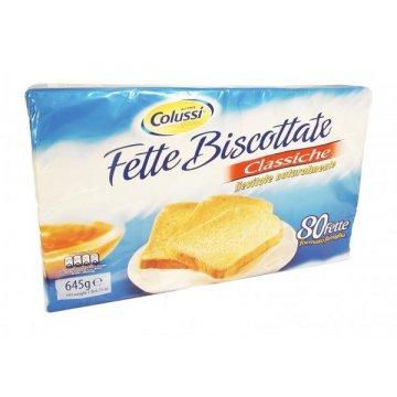 Тосты Colussi Fette Biscottate Classiche, 645 г
