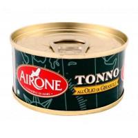 """Тунец Airone all""""Olio di Girasole, 80 г"""