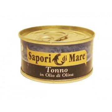 Тунец Sapori di Mare Tonno in Olio di Oliva, 80 г