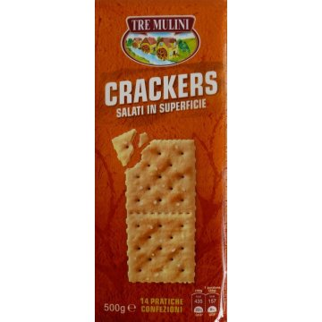 Печенье The Mulini Crackers Salati in Superficie, 500 г