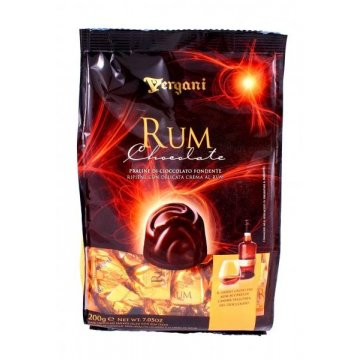 Конфеты Vergani Rum Chocolate, 200 г