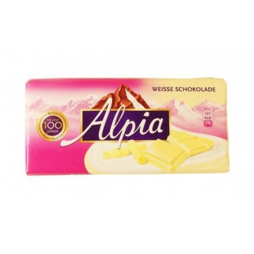 Шоколад Alpia Weisse Schokolade, 100 гр