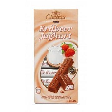 Шоколад Chateau Erdbeer Joghurt, 200г