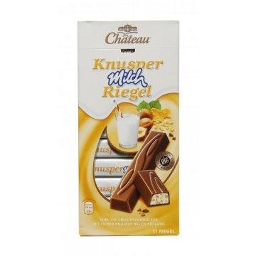 Шоколад Chateau Knusper Milch Riegel, 200г