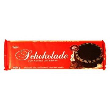 Шоколад Schokolade zum Kochen und Backen, 400г