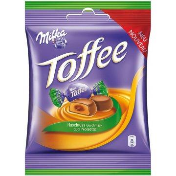 Конфеты Milka Toffee Haselnuss, 213 г