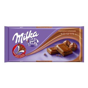 Шоколад Milka Noisette, 300 г