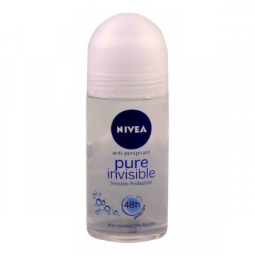 Шариковый Дезодорант Nivea pure invisible, 50 мл