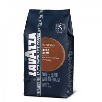 Кофе Lavazza Espresso Super Crema, 1кг (В зернах)