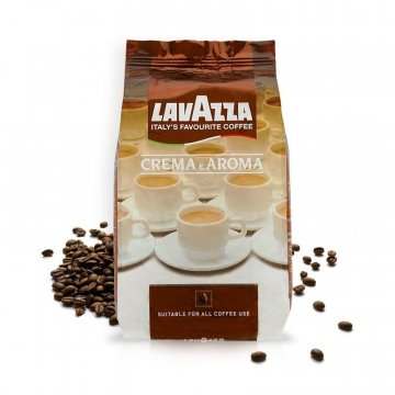 Кофе Lavazza CREMA e Aroma, 1 кг ( В зернах)