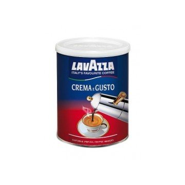 Кофе Lavazza Crema e Gusto Classico (банка), 250 г