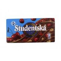 Шоколад Studentska с вишней, 180 г