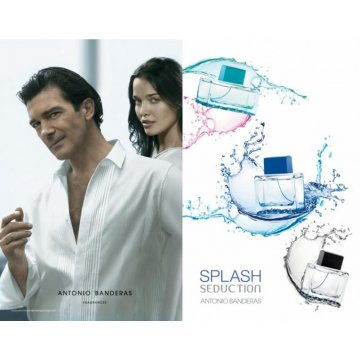 Antonio Banderas Splash Blue Seduction for women, 100 мл