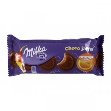 Печенье Milka Choco Jaffa Orange Jelly, 147 г