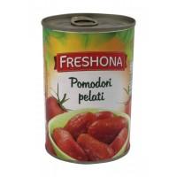 Очищенные помидоры в собственном соку Freshona, 400 г