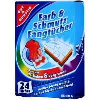 Салфетки для стиральной машины G&G Farb Schmutz Fangtucher, 24 шт
