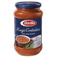 Соус для пасты Barilla Ragu Contadino con vino rosso, 400 мл