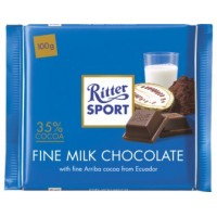 Шоколад Ritter Sport Fine Milk Chocolate, 100 г