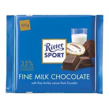 Шоколад Ritter Sport Fine Milk Chocolate, 100 г