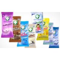 Влажные салфетки Green Shield FoodSurface антибактериальные, 50 шт