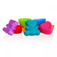 Набор силиконовых формочек 3,3 см, 8 шт. Mix Culin