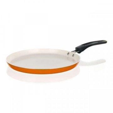 Сковорода для блинов 24 см Culinaria оранжевая