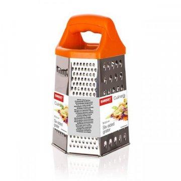 Терка 6-гранная Culinaria оранжевая