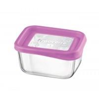 Емкость для продуктов Bormioli Rocco Frigoverre Basic розовая, 13х10