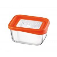 Емкость для продуктов Bormioli Rocco System fun 13х10 апельсин