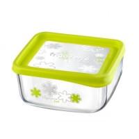 Емкость для продуктов Quadra fun зеленая 19х19