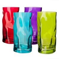 Набор: 3 стакана 460 мл Sorgente Rosa Fuscia